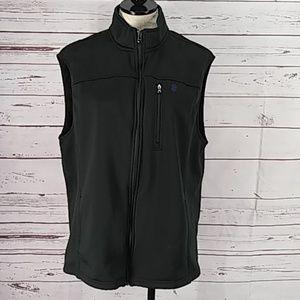 IZOD Black Advantage Performance Jacket Vest